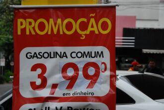 Gasolina teve aumento médio de R$ 0,30 centavos por litro