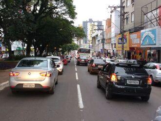 Fluxo lento na Brasil