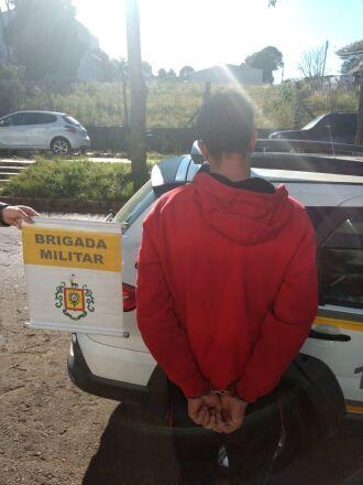 Homem foi preso na manhã de sexta-feira (23)
