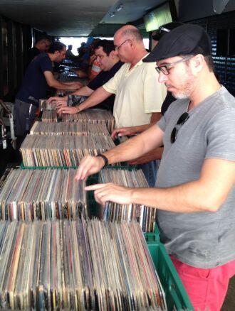 Feiras de discos recebem público cada vez maior