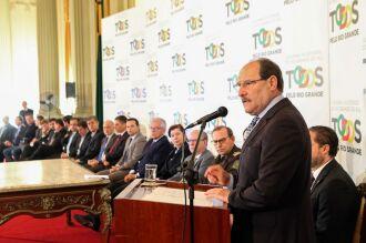 Governador disse que o concurso ocorre a partir da abertura de margem financeira para a segurança e aprovação de medidas pela AL