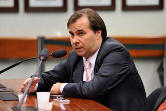"""""""Câmara não aceitará nenhuma mudança"""", escreveu Rodrigo Maia no Twitter"""