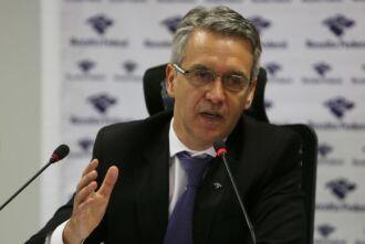 O Subsecretário de Fiscalização da Receita Federal, Iágaro Jung Martins, anunciou, em Brasília, o resultado de ações de fiscalização no primeiro semestre