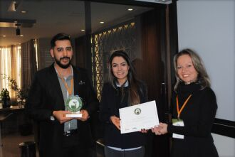 A certificação foi entregue na sede da Empresa Perfil Energia, em Caxias do Sul.