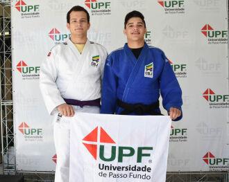 Luis Henrique e Daniel representarão a UPF na competição