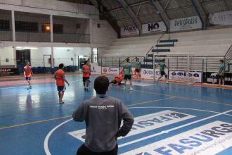 PF Futsal treina no Ginásio do Capinguí