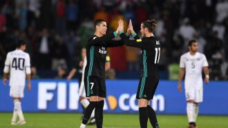 Cristiano Ronaldo e Bale marcaram os gols da vitória do Real Madrid