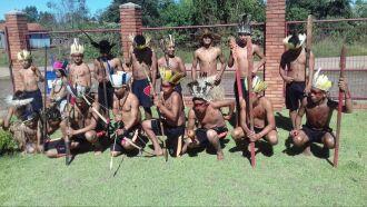 Grupo é da indígena de Votouro, localizada no município gaúcho de Benjamin Constant do Sul