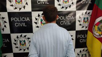 Equipe da 2ª DP capturou o homem em Pontão
