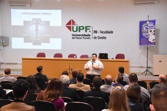 Evento ocorreu, nesta quarta-feira, 26 de setembro, no auditório da pós-graduação da Faculdade de Direito, Campus I