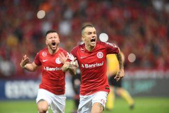 D'Alessandro marcou o gol da vitória