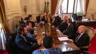 Primeira reunião das equipes de transição na Casa Civil nesta terça