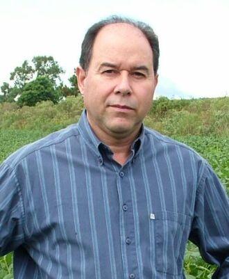 Agrônomo da Emater Regional de Passo Fundo, Cláudio Dóro