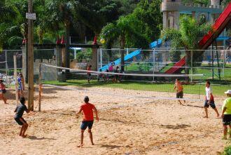 Torneio de vôlei de praia está programado para domingo