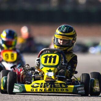 Heitor no Kartódromo Aldeia da Serra