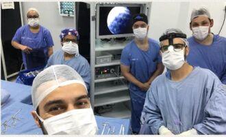 Equipe neurocirúrgica