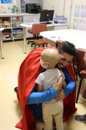 Visita ao Centro Oncológico Infantojuvenil