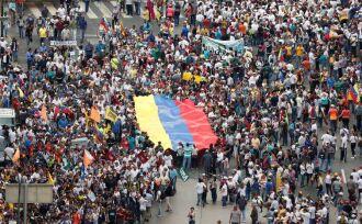 Manifestações na Venezuela