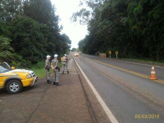 1.164 veículos foram flagrados em excesso de velocidade