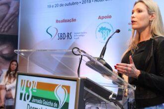 Dra. Fernanda Freitag é secretária científica da SBD-RS