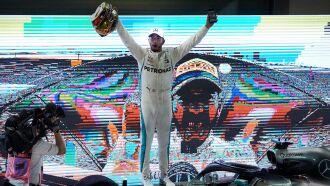 - O sexto título mundial deixaria Hamilton atrás somente do heptacampeão Michael Schumacher em número de conquistas