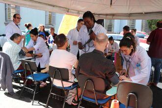 Comunidade recebeu orientações sobre a saúde dos rins