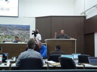 Na tribuna, o vereador e autor do PL, Aristeu Dalla Lana (PTB), disse que é