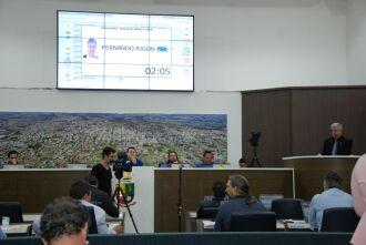 Na tribuna, o vereador Fernando Rigon (PSDB), que preside a Câmara de Vereadores, enfatizou a importância do trabalho conduzido pela DPE/R