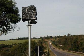 Equipamentos para controlar o fluxo de veículos na BR 285 também seguem desativados