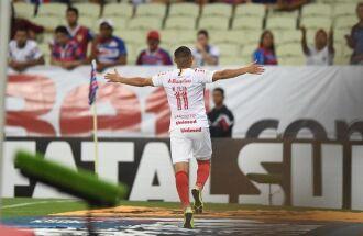 Wellington Silva marcou o gol da partida