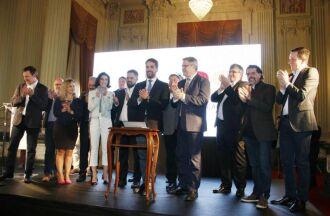 Lançamento foi feito no Palácio Piratini