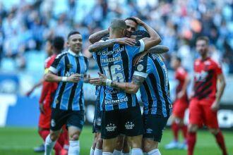 Grêmio ocupa a 11ª colocação na tabela de classificação