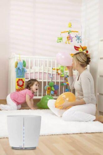 Purificador de ar pode ser usado em todos os ambientes da casa