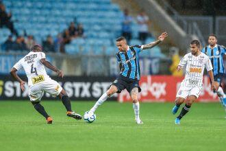 O Tricolor ficou no 0 a 0 com o time paulista