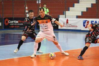 Passo Fundo Futsal segue na 3ª colocação