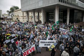 Novo ato deve acontecer em Porto Alegre na próxima terça-feira durante votação do Pojeto de Lei