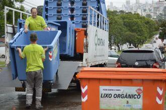 A Codepas, no entanto, continua a prestar o serviço de recolhimento na área central da cidade