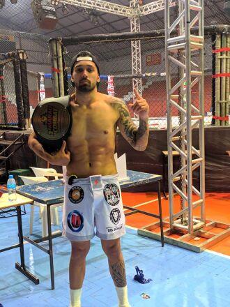 Kauê disputará o PF Fight 5, dezembro, em Passo Fundo
