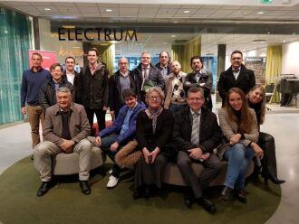 Grupo visitou o Kista Science City, cluster de ciência e tecnologia ligado à Electrum Foundation