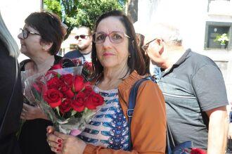 Moradora de Pedro Osório, Izabel Cristina veio a Passo Fundo agradecer por graças alcançadas