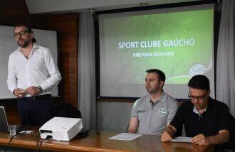 Prestação de contas: Ghion Júnior, Erasmo Battistella e Glauber Vieira