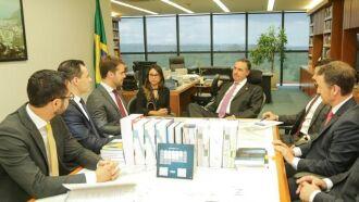Ministro Barroso ouviu os argumentos apresentados pelo governador Leite, embasados em dados da PGE, Secretaria da Fazenda e MP