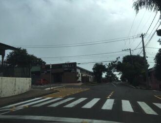 Parobé recebeu sinalização para reduzir velocidade e evitar acidentes no entroncamento com a Pelegrini
