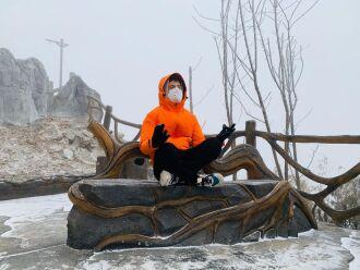 Rodolfo vive na cidade de Xian há 6 meses e tem evitado sair de casa pelo risco de contaminação