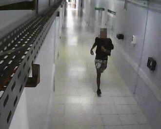 Imagens de câmeras de vigilâncias estão auxiliando na identificação dos autores
