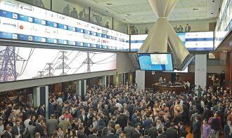 Negócios foram interrompidos na manhã de ontem, na bolsa brasileira