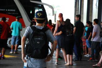 Cerca de 3 mil pessoas passam pelo terminal rodoviário diariamente
