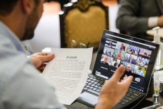 Na videoconferência, cada governador apontou problemas enfrentados no seu Estado e as demandas urgentes contra a pandemia