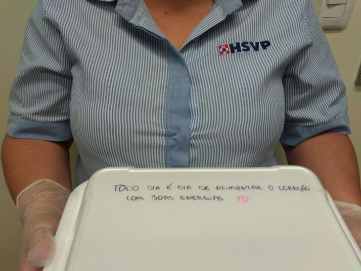 Foto: Assessoria de Comunicação HSVP/Scheila Zang