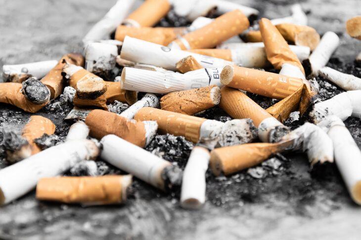 A pesquisa do Unoeste ouviu 128 fumantes (Foto: Paweł Czerwiński/Unsplash)